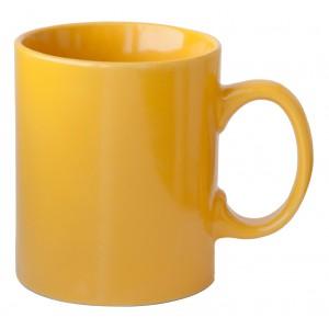 Kerámia bögre, sárga